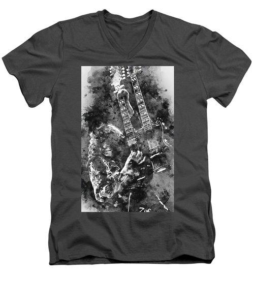 Jimmy Page - 02 Men's V-Neck T-Shirt