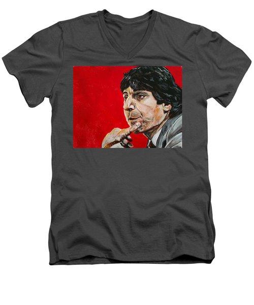 Jimmy V Men's V-Neck T-Shirt