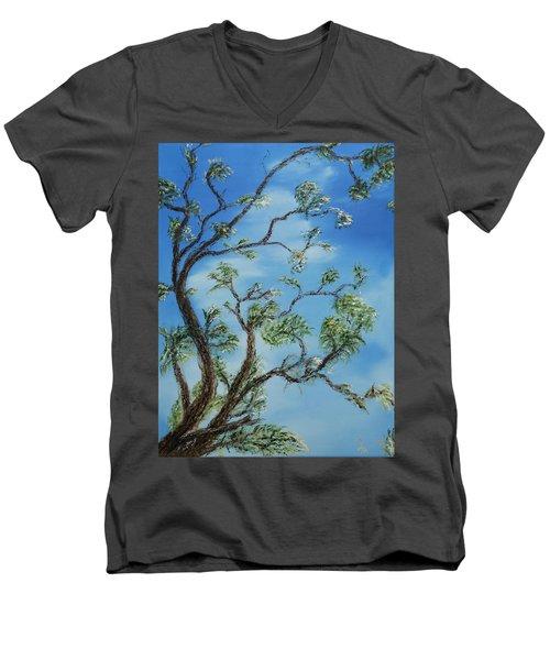 Jim's Tree Men's V-Neck T-Shirt