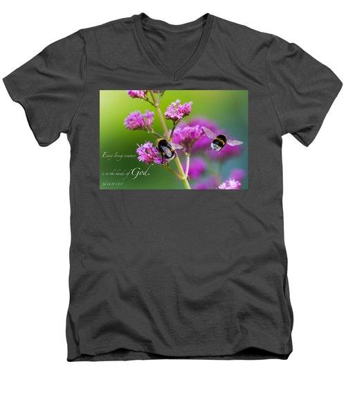 Job 12 10 Men's V-Neck T-Shirt