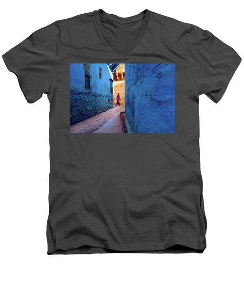 Jodhpur Colors Men's V-Neck T-Shirt
