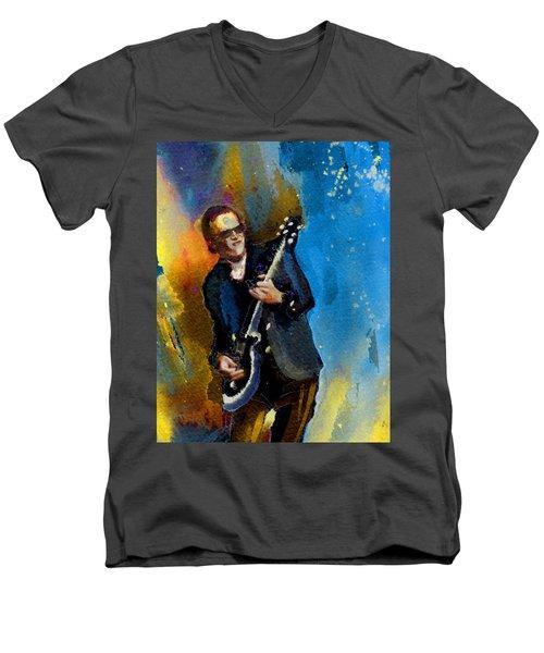 Joe Bonamassa 03 Bis Men's V-Neck T-Shirt