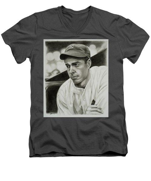 Joe Dimaggio Men's V-Neck T-Shirt