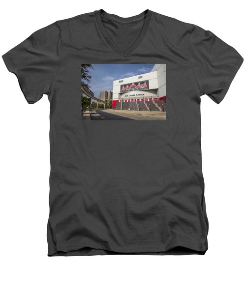 Joe Louis Arena Detroit  Men's V-Neck T-Shirt