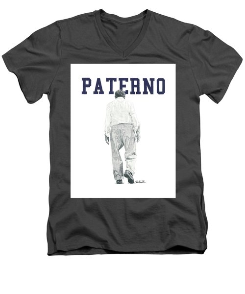Joe Paterno Men's V-Neck T-Shirt