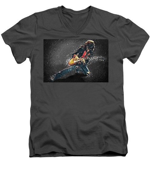 Joe Perry Men's V-Neck T-Shirt