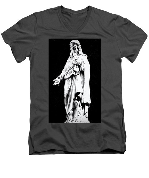 John 14-6 Men's V-Neck T-Shirt
