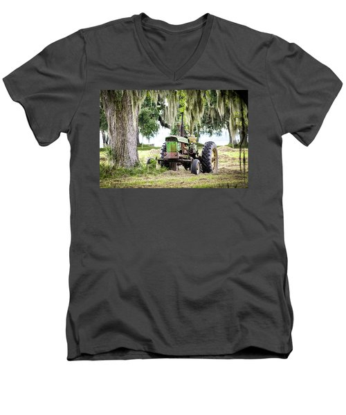 John Deere - Hay Day Men's V-Neck T-Shirt