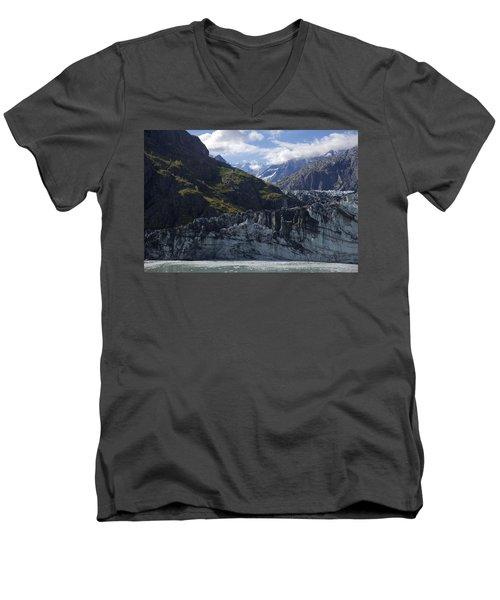 John Hopkins Glacier 15 Men's V-Neck T-Shirt