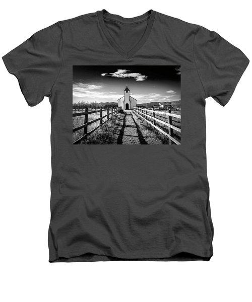 John Mcdougall's Church 002 Men's V-Neck T-Shirt