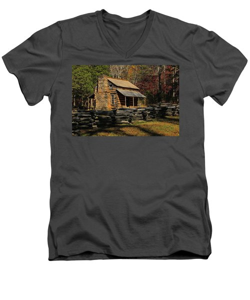 John Oliver Place Men's V-Neck T-Shirt