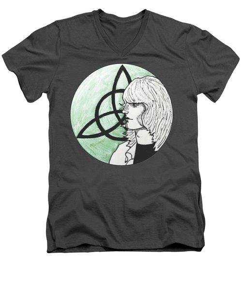 John Paul Jones Men's V-Neck T-Shirt by Sofia Vyalykh