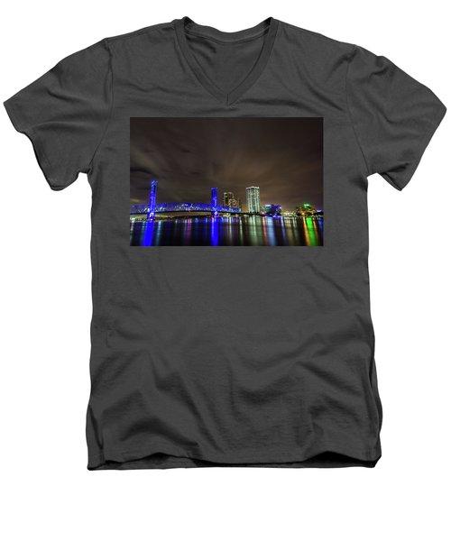John T. Alsop Bridge Men's V-Neck T-Shirt