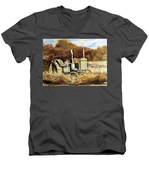 Johnny Popper Men's V-Neck T-Shirt