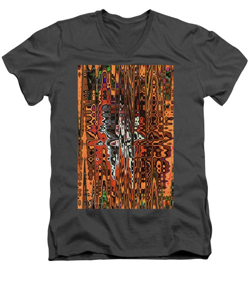 Jojo Abstract Men's V-Neck T-Shirt