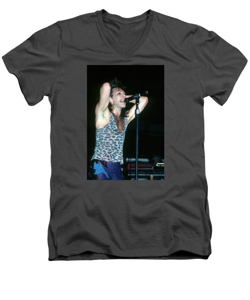 Jon Bon Jovi Men's V-Neck T-Shirt