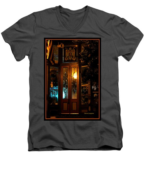 Jonesborough Tennessee 14 Men's V-Neck T-Shirt by Steven Lebron Langston