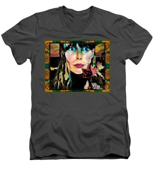 Joni Men's V-Neck T-Shirt