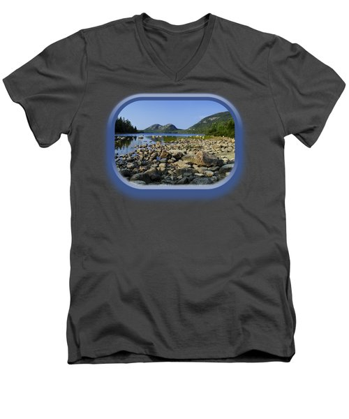 Jordan Pond No.1 Men's V-Neck T-Shirt