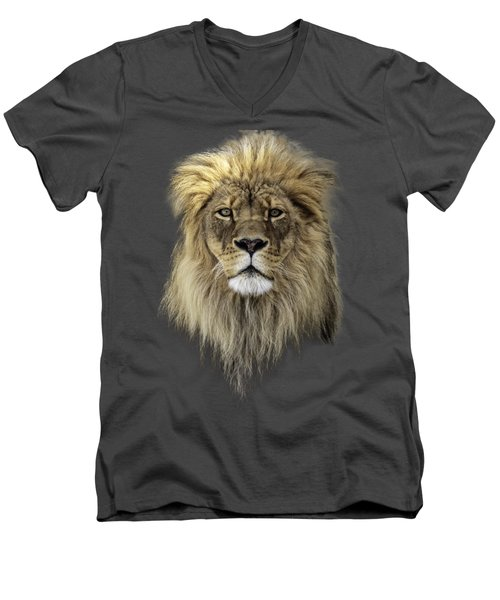 Men's V-Neck T-Shirt featuring the photograph Joshua T-shirt Color by Everet Regal