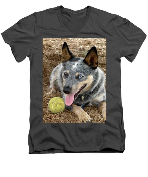 Josie Men's V-Neck T-Shirt