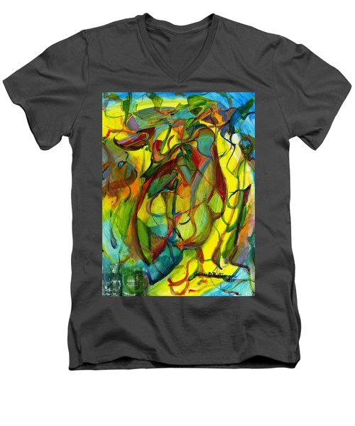 Josie's Pals Men's V-Neck T-Shirt