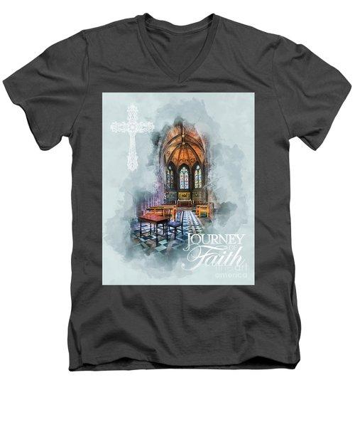 Journey Of Faith Men's V-Neck T-Shirt