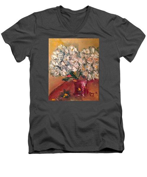 Joy Men's V-Neck T-Shirt by Roxy Rich