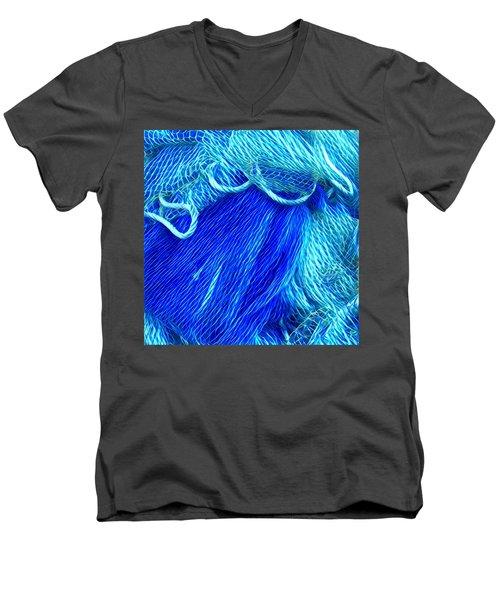 Joy With Colours  Men's V-Neck T-Shirt