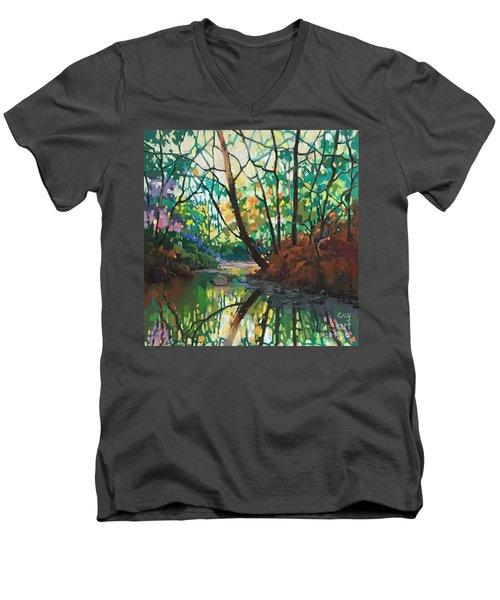 Joyful Morning Men's V-Neck T-Shirt