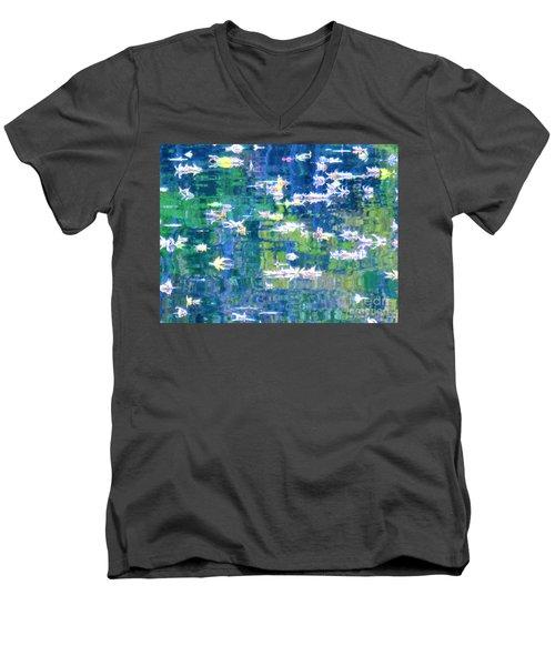 Joyful Sound Men's V-Neck T-Shirt