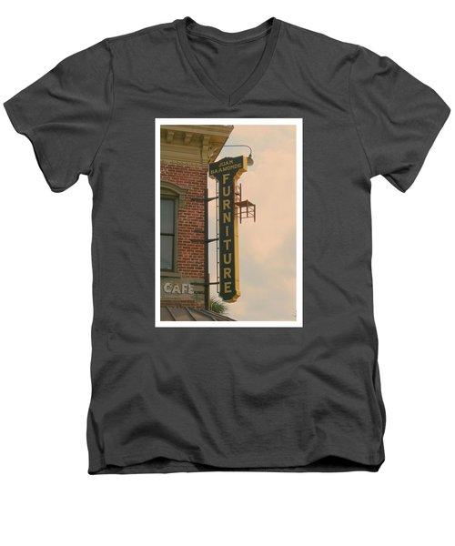 Juan's Furniture Store Men's V-Neck T-Shirt by Robert Youmans