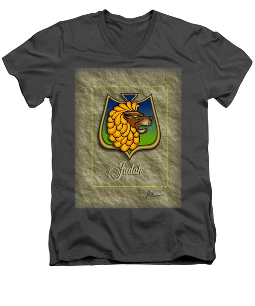 Judah Shield Shirt Men's V-Neck T-Shirt
