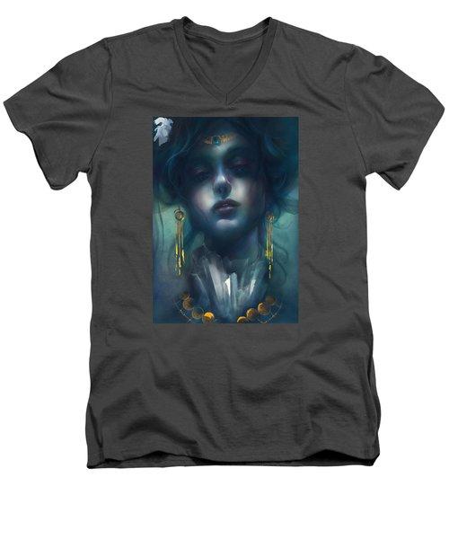Judith V1 Men's V-Neck T-Shirt