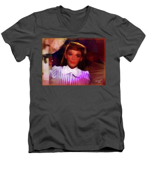 Judy Garland Men's V-Neck T-Shirt