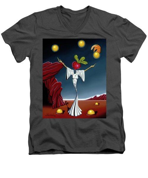 Juggling Act Men's V-Neck T-Shirt