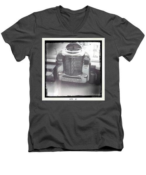 Juke Box Men's V-Neck T-Shirt