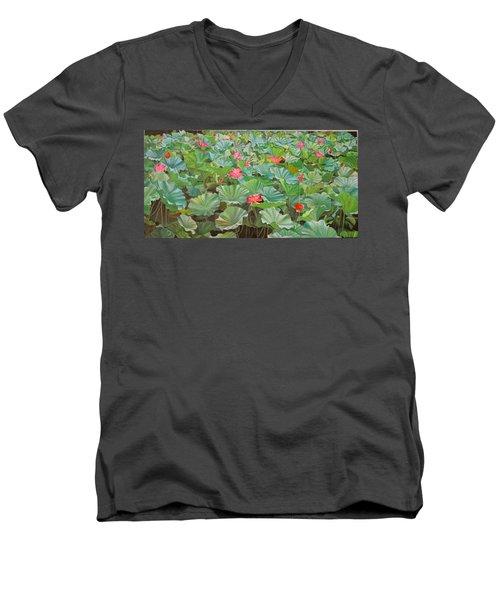 July 4th Men's V-Neck T-Shirt