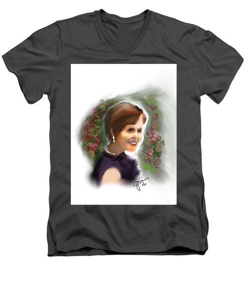 Julia Men's V-Neck T-Shirt