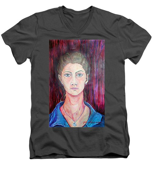 Julie Self Portrait Men's V-Neck T-Shirt