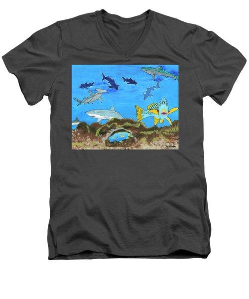 July 2017 Men's V-Neck T-Shirt