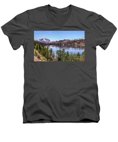 June Lake Men's V-Neck T-Shirt