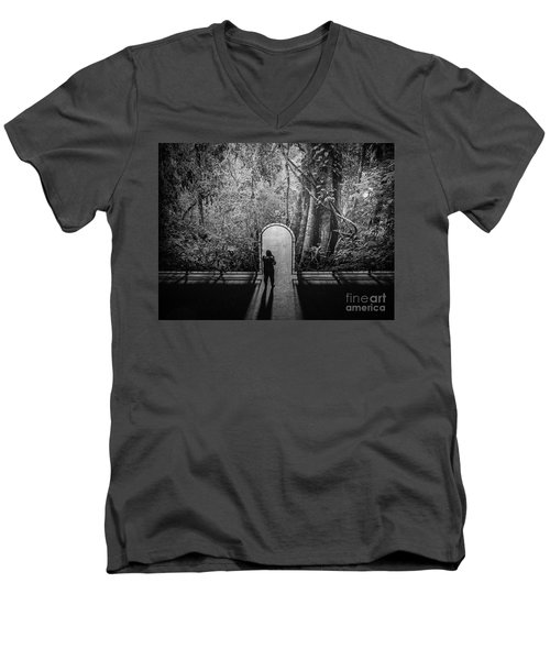 Jungle Entrance Men's V-Neck T-Shirt