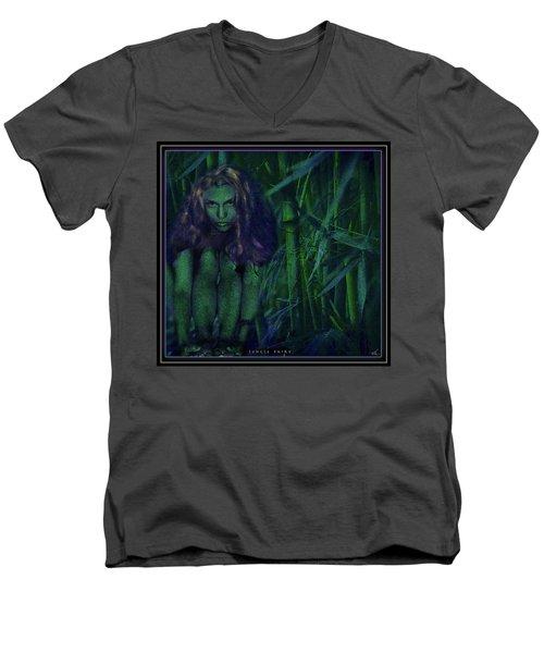 Jungle Fairy Men's V-Neck T-Shirt