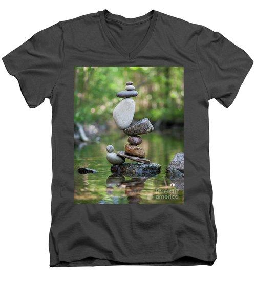 Jungle Magic Men's V-Neck T-Shirt