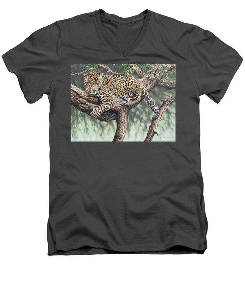 Jungle Outlook Men's V-Neck T-Shirt