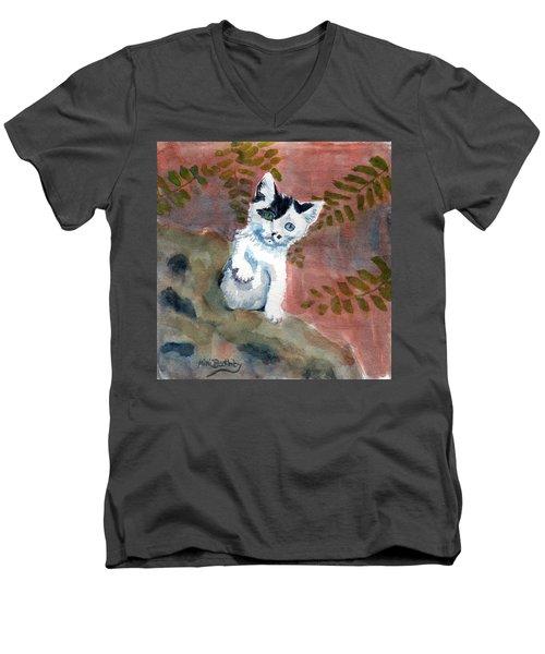 Junior Men's V-Neck T-Shirt
