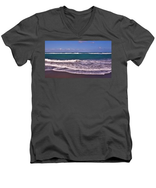 Jupiter Island Beach Men's V-Neck T-Shirt