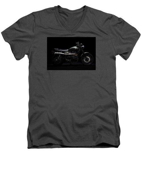 Jurassic Scrambler Men's V-Neck T-Shirt