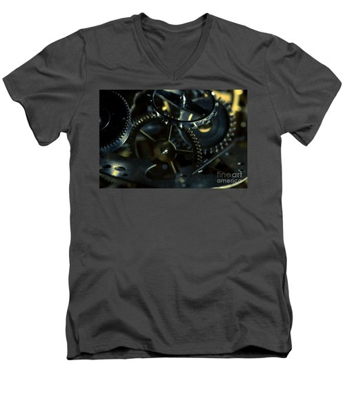 Just A Cog In The Machine 5 Men's V-Neck T-Shirt